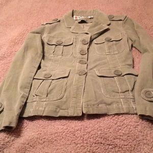 Plugg Corduroy Jacket Size Small CUTE CUTE CUTE💕